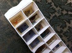 Tiny Resin Collage Craft (using just an old ice tray) - Lulastic and the HippyshakeLulastic and the Hippyshake