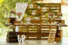 Decoração com paletes: Opções criativas para decorar a casa |Portal Tudo Aqui