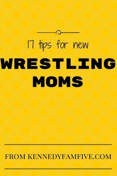 17 tips for new wrestling moms Wrestling Mom Shirts, College Wrestling, Flag Football, Baseball, Mother Knows Best, Team Mom, Positive Discipline, Sports Mom, Jiu Jitsu