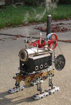 Meccano Steam Walker.
