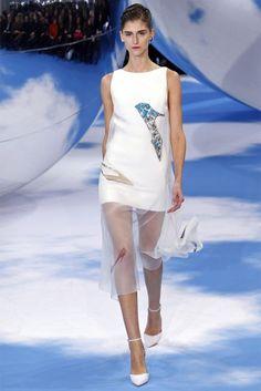 Minidress bianco Dior