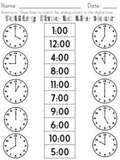 30 Elasped Time Worksheets Page Telling Time No Prep Packet The kids can enjoy Number Worksheets, Math Worksheets, Alphabet Worksheets, Colo. First Grade Math Worksheets, 1st Grade Math, Preschool Worksheets, Alphabet Worksheets, Money Worksheets, Cursive Alphabet, Number Worksheets, Teacher Worksheets, Grade 2