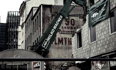 #stpauli #sommersalon #spielbudenplatz #abriss http://sanktpaulistreetphotography.jimdo.com/projekte/