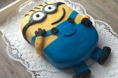 Minion-Torte mit Kinderschokoladencreme (Rezept mit Bild)   Chefkoch.de