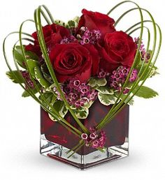 Teleflora's Sweet Thoughts Bouquet with Red Roses in Wilkinsburg PA, James Flower & Gift Shoppe