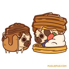 Lazy Sunday :3 Are you more pancakes or waffles?