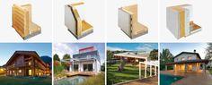 La tua casa in legno, 4 sistemi costruttivi, una sola garanzia: Rubner