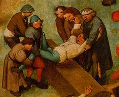1560 Pieter Bruegel the Elder - Sets of Children, Detail Uproar - ARTBoom Medieval Art, Renaissance Art, Pieter Brueghel El Viejo, Lucas Cranach, Pieter Bruegel The Elder, Dream Pictures, Hieronymus Bosch, Rembrandt, Macabre