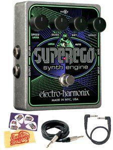 Electro Harmonix Superego Synth Engine Guitar Effects Pedal Bundle ...