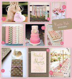 A Rustic Pink Bridal Shower | Wedding Tips & Trends - Bridal Blog