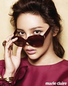 Park Si Yeon in Marie Claire Korea - May 2012