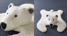 Le tapis ours tricoté - Prima
