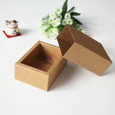 Free shipping wholesale100pcs/lot DIY Drawer Kraft Packaging Paper Box  10.8*7.8*4.2CM US $77.00