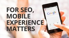 Mobile Optimization & Important Factors For Mobile SEO Websites Mobile Marketing, Online Marketing, Cell Phone Reviews, Mobile Friendly Website, Seo Agency, Seo Tips, Seo Services, Search Engine Optimization, Web Design