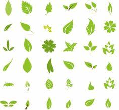 Hoja Verde elementos de diseño