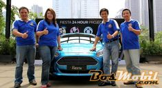 "Ford Indonesia Gelar Kampanye Pra-Peluncuran New Ford Fiesta ""Fiesta 24-Hour Project"""
