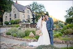 The classic Elliston Vineyards photo!  | Elliston Vineyards, Sunol, CA. #wedding | Sarah Dawson Photography