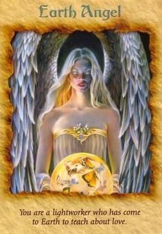 Today's Angel Card comes from Angel Therapy Cards Doreen Virtue. Today's card :Earth Angel You are a light worker who has come to Earth . Doreen Virtue, Angels Touch, Angel Quotes, Angel Guidance, I Believe In Angels, Angel Numbers, Angels Among Us, Angel Cards, Mystique