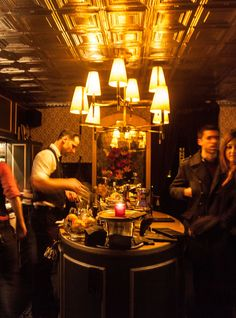Get Your Gatsby On In These NYC Speakeasies+#refinery29