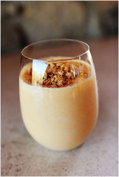 Pumpkin Smoothies - I've tried a couple different pumpkin smoothie recipes from Pintrerest, but this one is by far the best! I've made this recipe many times at the request of my boyfriend. Delicious! - tried by KJ