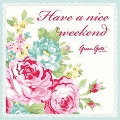 Have a nice weekend everyone!!