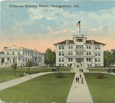 Great history on Alabama Freemasons with vintage pictures & links Masonic Temple, Masonic Lodge, Dallas County, Grand Lodge, Colonial America, Sweet Home Alabama, Masons, Freemason, The Grandmaster