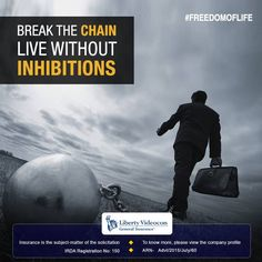 Break the chain and enjoy freedom the way it was always intended to be. #FreedomOfLife