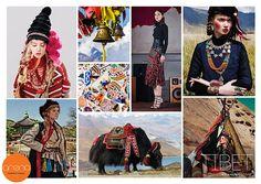 Key Seasonal Direction, F/W 2016 - 2017, Women's trend: Tibet #weconnectfashion.com #ArenaInternationalUK