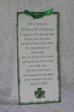 Irish Wedding Favors with *Shamrock Seeds*