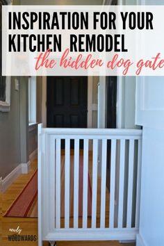 Home Ideas: A hidden doggie gate - NewlyWoodwards