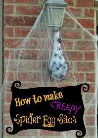 The TipToe Fairy: Creepy Spider Egg Sac