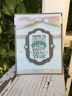 Mingle All The Way - Stampin' Up! Created by Julie Douglas of Stamp Your Dream Designs