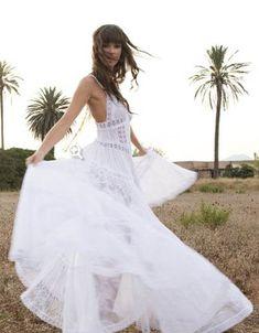 vestido ibicenco