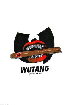 Graffiti Art, Graffiti Lettering Fonts, Graffiti Pictures, Arte Do Hip Hop, Hip Hop Art, Dope Cartoon Art, Dope Cartoons, Wu Tang Tattoo, Wu Tang Clan Logo