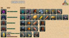 ARK: Survival Evolved - Guide for Beginners (Maps, Dinos, Cooking, Engrams, Recipes) Ark Survival Evolved Tips, Car Survival Kits, Survival Food, Survival Skills, Survival Tips, Outdoor Survival, Ark Recipes, Cooking Recipes, Einstein
