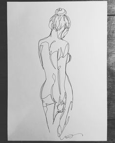 martin.tardy Sensual back nude 1 Oneline drawing on A4 paper Martin Tardy 11.2017 #art #kunst #martintardy #drawing #zeichnung #zeitgenössischekunst #contemporaryart #oneline #onelinesrawing #wien #vienna #exhibition #collection #artcollector #lady #woman #nude #sensual #forsale