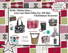 Christmas ideas from Thirty one
