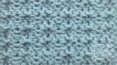 Example of the Whelk Stitch Wrong Side