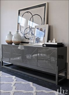 MODERN SIDEBOARD |  home decor ideas with a black sideboard  | bocadolobo.com/ #modernsideboard #sideboardideas