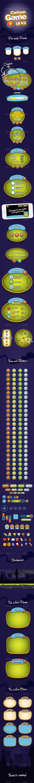 Cartoon Game UI Kit Vector EPS, AI Illustrator. Download here: https://graphicriver.net/item/cartoon-game-ui-kit/9324618?ref=ksioks