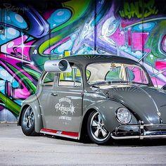 Jp's Stunning bug. Big love for this. #kerbside #kerbsidekustoms #slammed #aircooled #beetle #bristol #lowlife #loveit #uk #patina #ukdubs #vw #vwbug #volkswagen #volksworld #graffiti #streetart #england