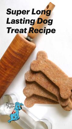 Dog Cookie Recipes, Easy Dog Treat Recipes, Dog Biscuit Recipes, Recipes For Dog Treats, Dog Food Recipes, Soft Dog Treats, Puppy Treats, Diy Dog Treats, Healthy Dog Treats
