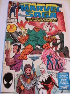 Vintage Marvel Saga #1-3 (3 ISSUES) Comics