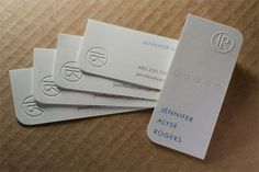 Great article on the different technologies that can be used to make business cards.