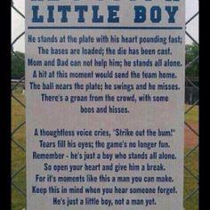 He's just a little boy... <3
