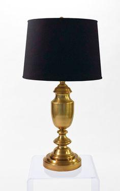 Antique Brass Baluster Cordless Lamp