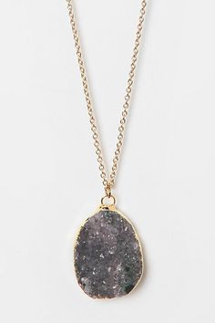 Abigail's Vision Crystal Necklace  #UrbanOutfitters omg, its MY vision crystal necklace lol