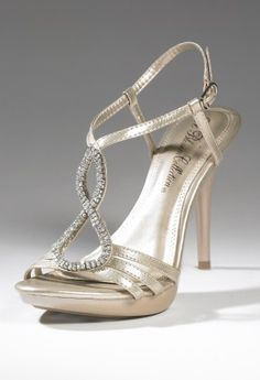 Shoes - Mid Heel Teardrop Sandal from Camille La Vie and Group USA