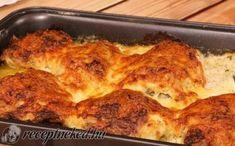 Tepsis csirkecomb recept fotóval