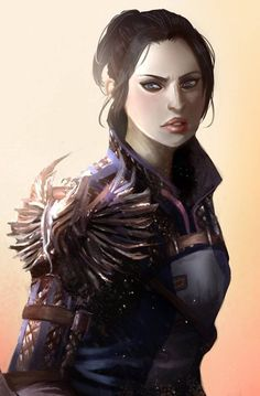 Image result for dragon age origins female warden oc